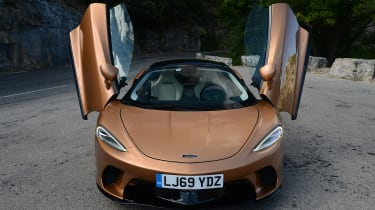 McLaren GT - full front doors open