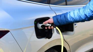 Skoda Enyaq iV 80 - charging