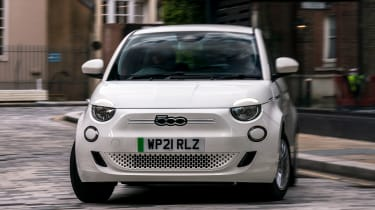 Fiat 500 Action - front cornering