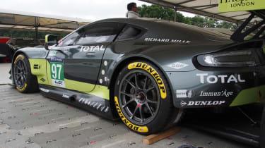 Aston Martin GTE Le Mans car - Goodwood rear