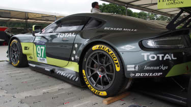Aston Martin GTE Le Mans car - Goodwood rear