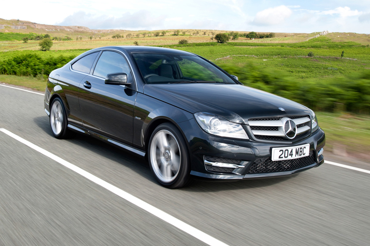Mercedes C250 Cgi Coupe Review Auto Express