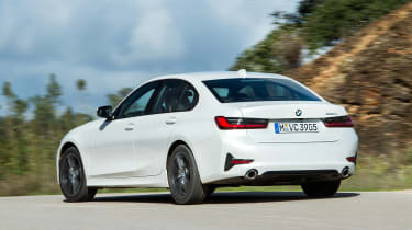 BMW 320d - rear action