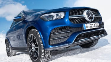 Mercedes GLC 400 d Coupe - front static