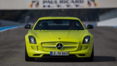 Mercedes SLS Electric Drive front