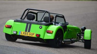 Long-term test review: Caterham 310S - drift 2