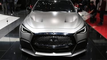 Infiniti Q60 Project Black S Geneva - full front