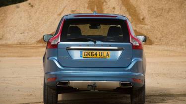 Used Volvo XC60 - full rear