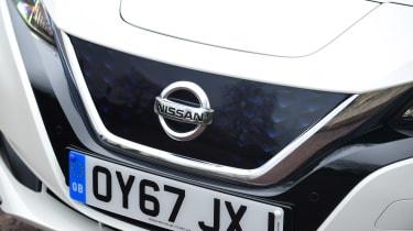 Nissan Leaf - grille