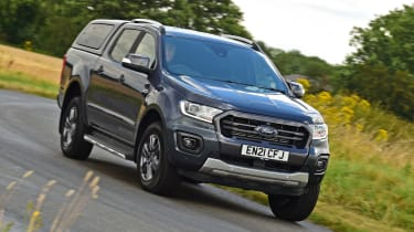 Ford Ranger Wildtrack long termer - first report front cornering