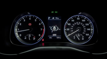 Hyundai Kona - speedo