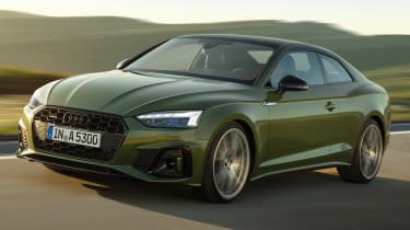 2019 Audi A5  - front tracking