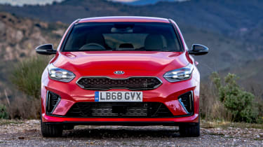 Kia Ceed GT - full front