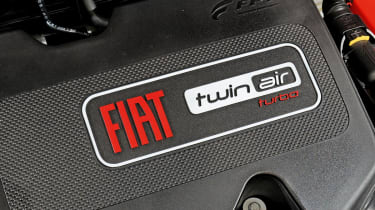 Fiat Panda TwinAir engine