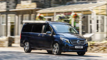 Mercedes V-Class Marco Polo - front action
