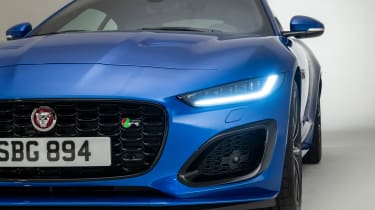 Jaguar F-Type - headlight