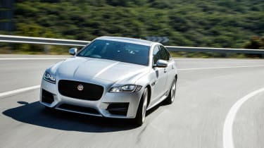 Jaguar XF R-Sport - front action