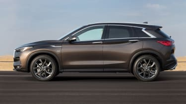 New Infiniti QX50 SUV - side