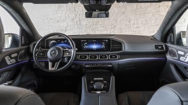 2019 Mercedes GLS interior