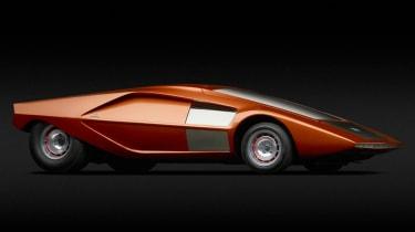 Lancia (Bertone) Stratos HF Zero (1970)