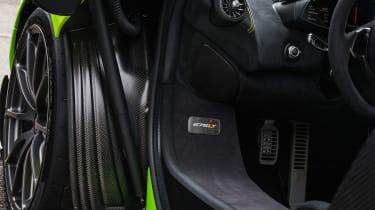 McLaren 675LT - sill