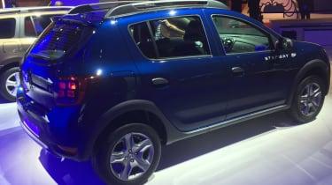 Dacia Sandero - Paris rear three quarter