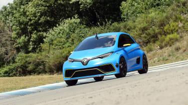 Renault ZOE E-Sport concept - front cornering