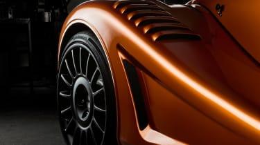 Morgan Aero GT teaser - wheel