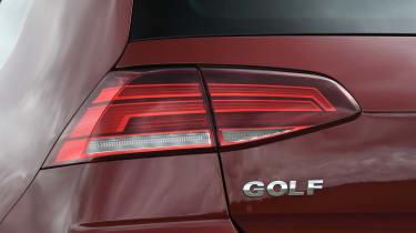 VW Golf brake light