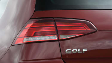 VW Golf brake light
