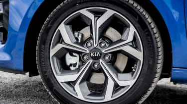 New Kia Ceed UK alloy wheel