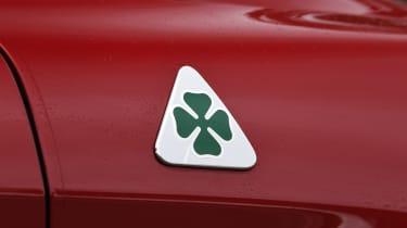 Alfa Romeo Stelvio Quadrifoglio cloverleaf badge