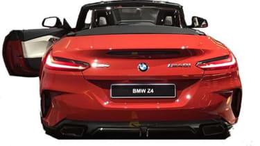 BMW Z4 leaked rear