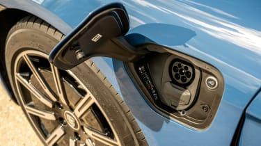 Porsche Taycan RWD - charging port