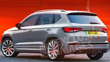 SEAT Ateca Cupra - exclusive pictures rear