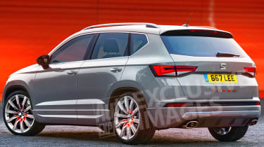 SEAT Ateca Cupra - exclusive pictures rear