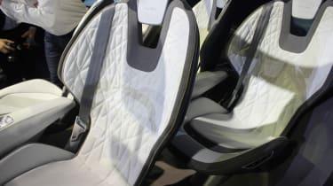 Skoda Vision E Concept - show seat detail