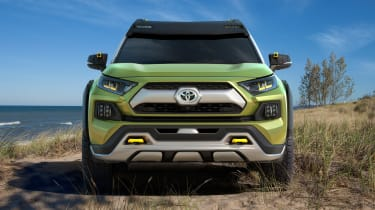 Toyota FT-AC Concept - front