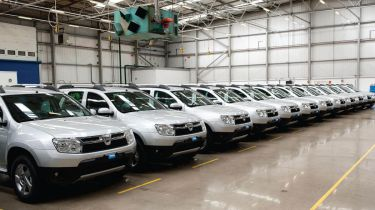 Dacia Duster row