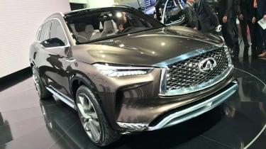 Infiniti QX50 Concept - show front