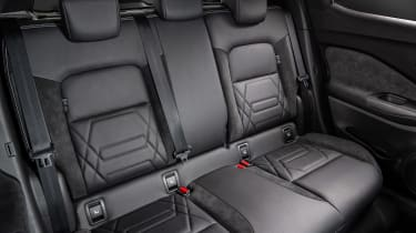 Nissan Juke - rear seats