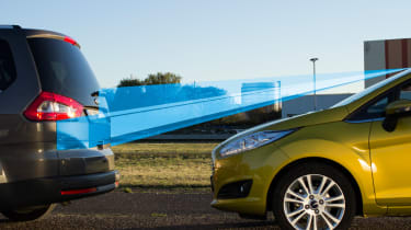 Ford Fiesta emergency brake system