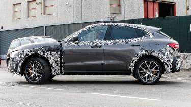 Maserati Levante GTS side
