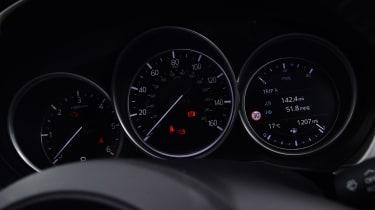 Mazda 6 Tourer dials