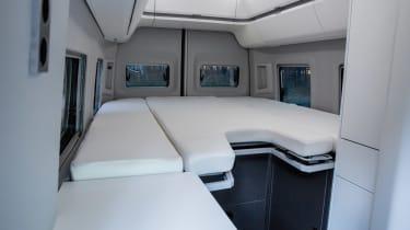 Volkswagen Grand California bed