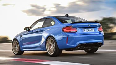 BMW M2 CS - rear action