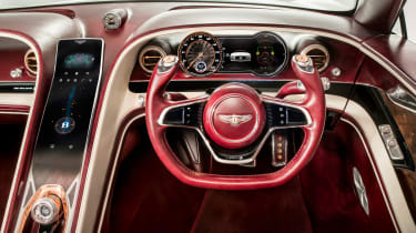 Bentley EXP 12 Speed 6e - interior