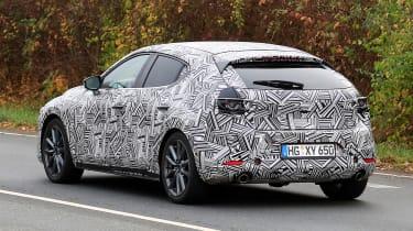Mazda 3 - spy rear 3/4