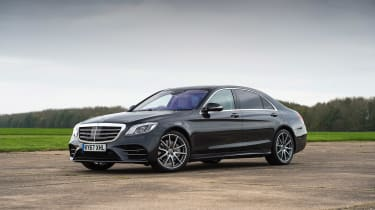Mercedes S-Class - front static