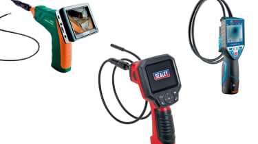 Best borescope inspection cameras group test